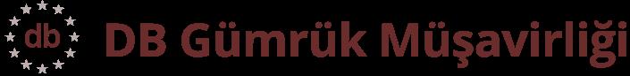 DB Gümrük Müşavirliği Logo